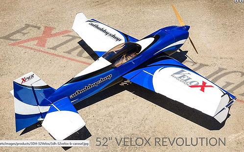 "Extreme Flight 52"" Velox Revolution Blue/White"