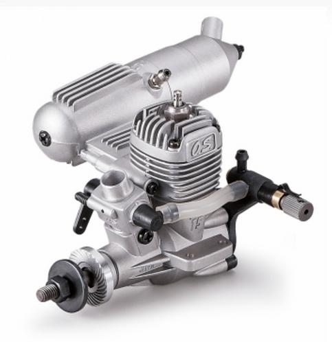 OS MAX-15LA 2-tahtinen metanolimoottori
