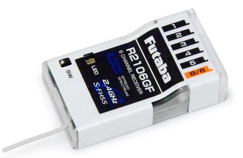 Futaba R2106GF HV Micro S-FHSS vastaanotin