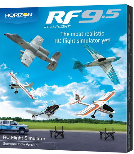 RF 9.5 Flight simulator, software only