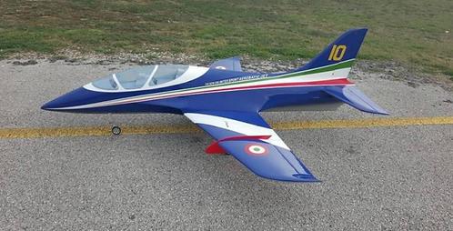 Sebart Avanti XS 120mm Jet combo (White/Blue/Green) PNP