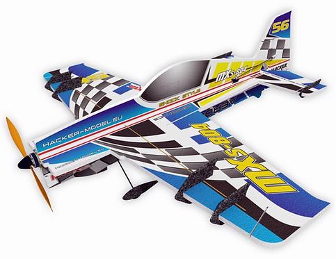 MXS-804 Vector ARF Racing Blue