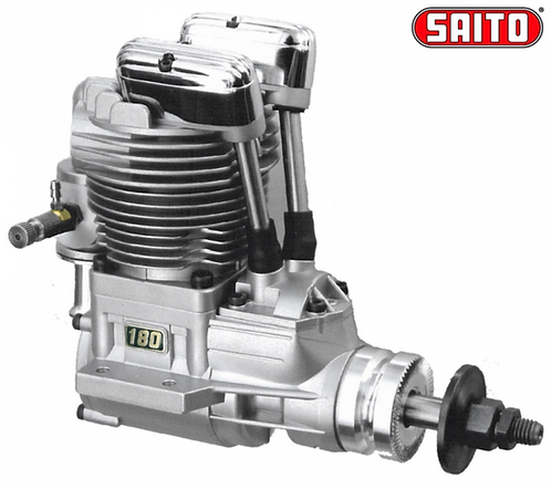 Saito FA-180B 29,1cc 4-tahti Metanoli moottori