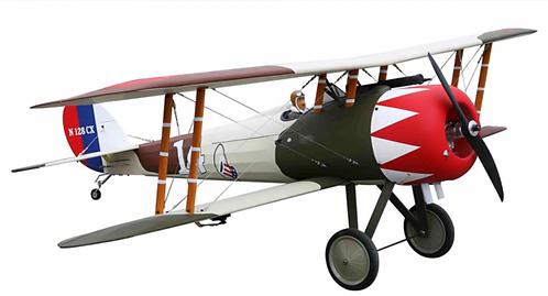 Nieuport 28 replica bipe 20-26cc Gas ARF