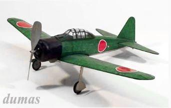 A6M3 Zero 445mm balsa kit