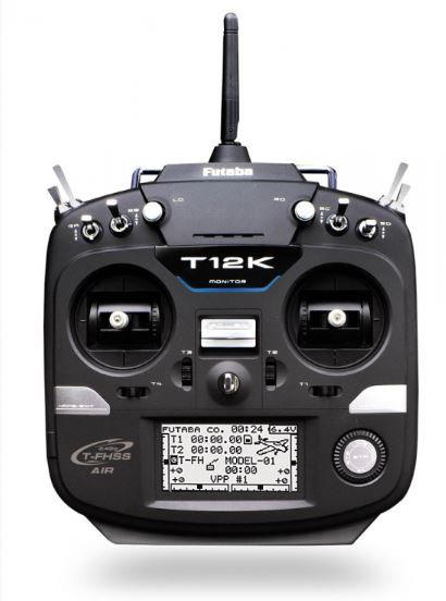 T12K lähetin ja R3008SB vastaanotin T-FHSS ja S-FHSS