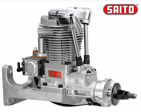 Saito FG-40 40cc 4-stroke Gasoline Engine