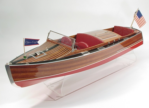1930 Chris-Craft Runabout 914mm Wood kit