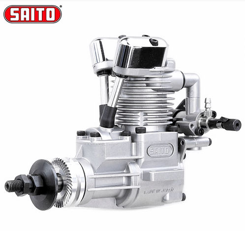 Saito FA-40A 4-tahti Metanoli moottori