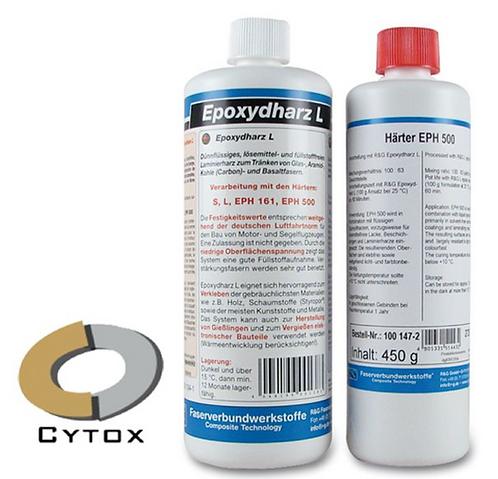 Epoxy resin L + Kovetin L (40min) 140g