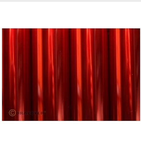 ORACOVER 2m transparent red