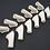 Thumbnail: Pakoputki Spitfire, P-51 Mustang Merlin pyöreä 1/5