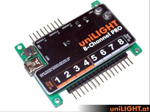 Unilight Controller 8kanavainen Pro