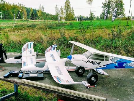 Lennätyksen opettelu