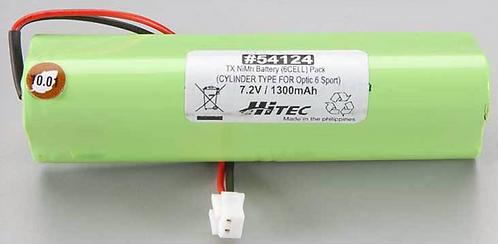Hitec transmitter battery OPTIC 6 SPORT