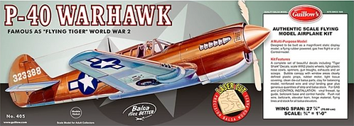 P-40 Warhawk Guillow