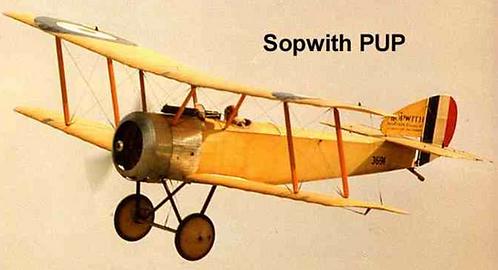 Sopwith Pup 1/4 Full kit