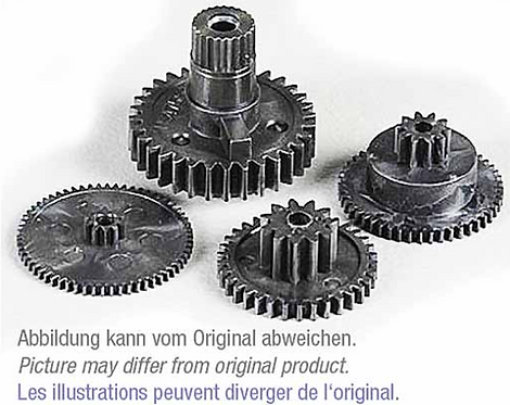 MPX gear set Servo Nano Pro Karbonite