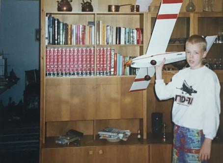 Ensimmäinen rakentamani  rc-lennokki