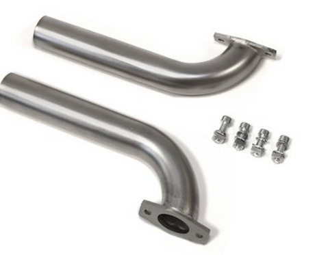 Header Pipes for ZG 74/80 left+right d=25mm with screws and nuts