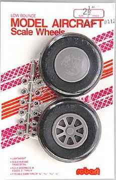 Robart Straight tread wheels 64mm