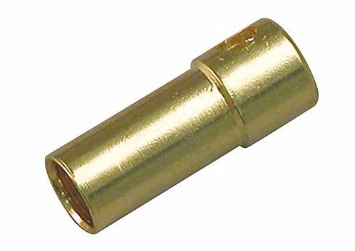Multiplex 3.5mm kullattu naaras liitin, 3kpl
