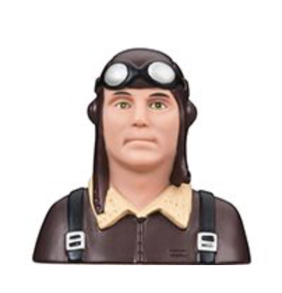Great Planes 1/4 military pilot