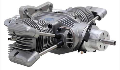 Saito FG-100TS Twin 4-tahti bensiini moottori