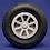 Thumbnail: Diamond tread wheel 89mm