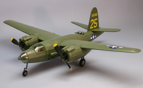 B-26 Marauder 762mm wood kit