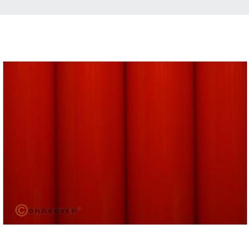 ORACOVER 2m Scale bright red