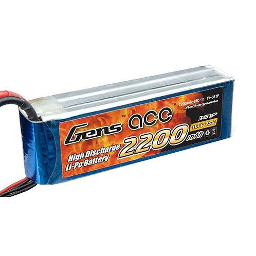 Gens Ace 2200mAh 25C 3S1P