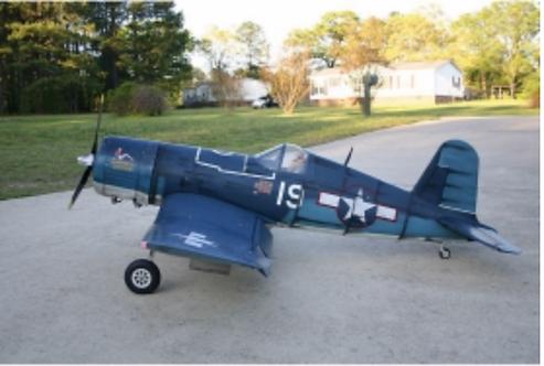 F4U Corsair 2360mm Short kit
