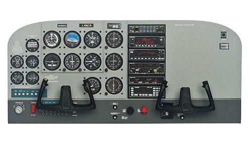 Cessna 172 Skyhwk 1/4 instrument panel kit