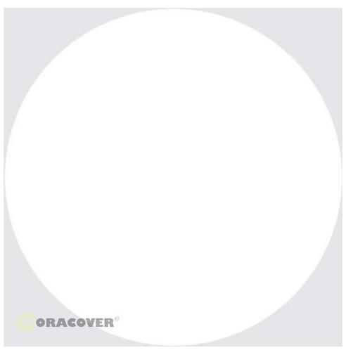 ORACOVER 10m Scale white