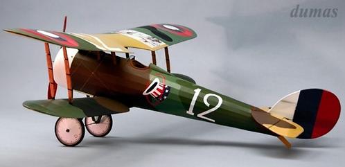 Nieuport 28 RC balsa kit