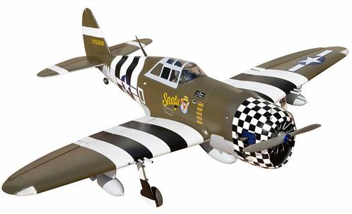 """P-47G Thunderbolt """"Snafu"""" 60 ARF"""