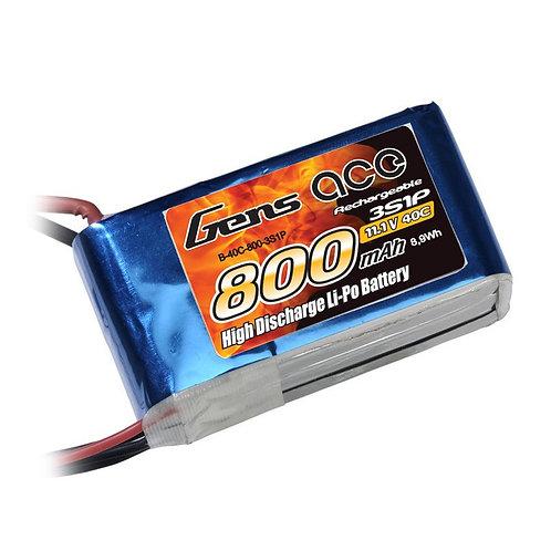 Gens Ace 800mAh 40C 3S1P