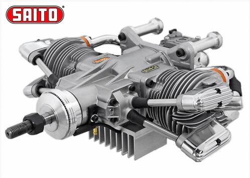 Saito FG-61TS 61cc 4-stroke Gasoline Engine