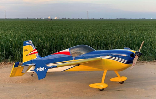 "Laser 67"" Yellow/Blue ARF"