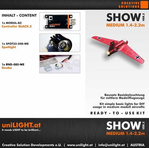 Show-Medium lighting set