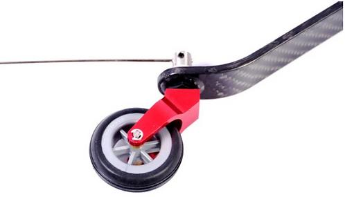 Kannuspyörä hiilikuitu 20-40cc V2