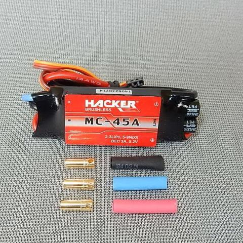 MC-45A nopeudensäädin harjattomalle moottorille
