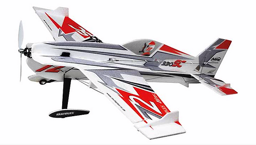 Multiplex Extra 330SC indoor Edition red/silver kit + Combo