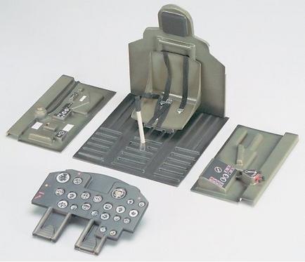 Giant P-47 Thunderbolt ohjaamo kit