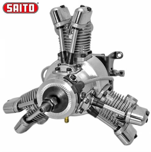 Saito FG-19R3 19CC 4-tahtinen benssiini moottori