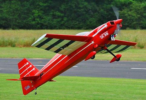 """Extreme Flight 74"""" Laser EXP V2 Red"""
