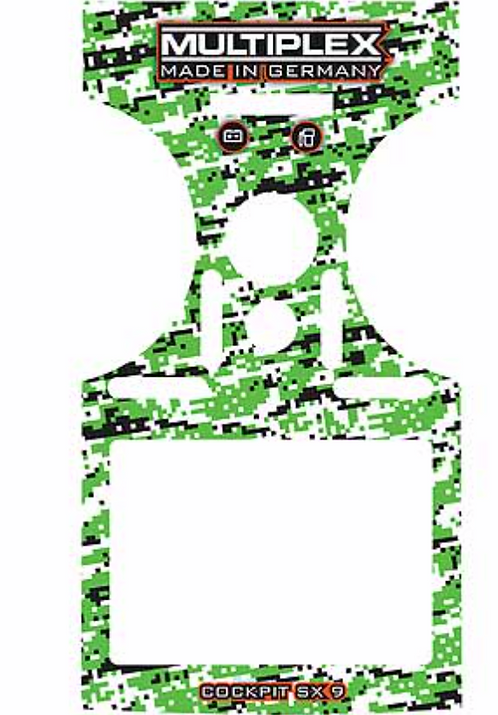 Decal Cockpit SX green