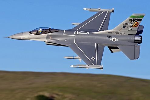 F-16C Fighting Falcon V2 70mm PNP