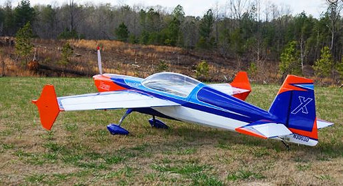"Extreme Flight 70"" Extra 300-EXP V2 Orange/Blue/White"